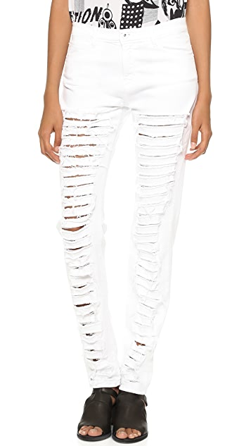 EACH x OTHER Ruiz Stephinson Destroyed Jeans