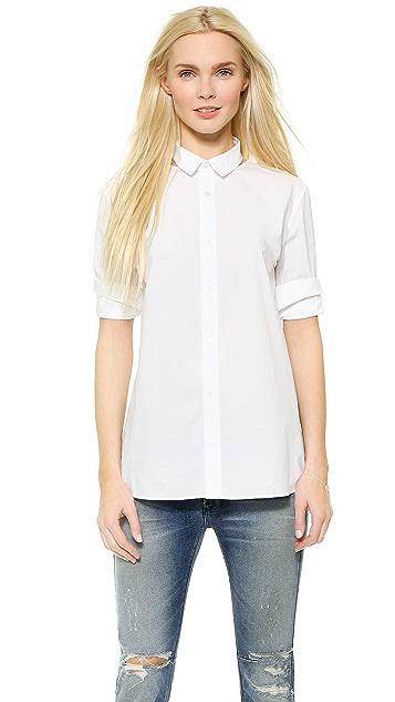 EACH x OTHER Open Collar Shirt