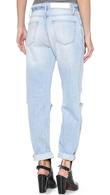 EACH x OTHER Robert Montgomery Minimal X Oversize Destroy Jeans