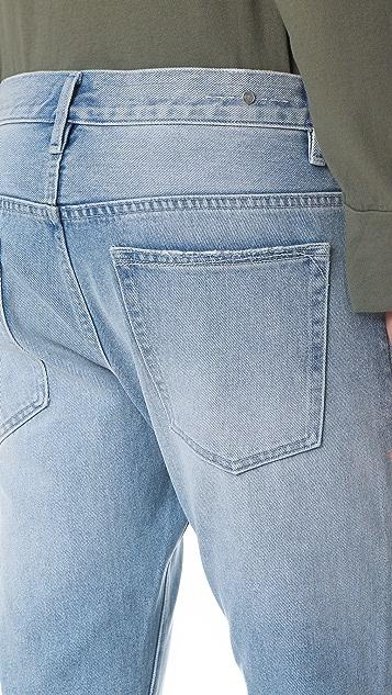 Earnest Sewn Bryant Slouchy Slim Jeans