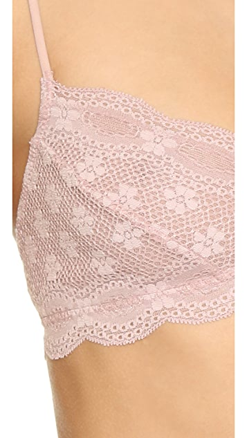 Eberjey India Lace Retro Bralette