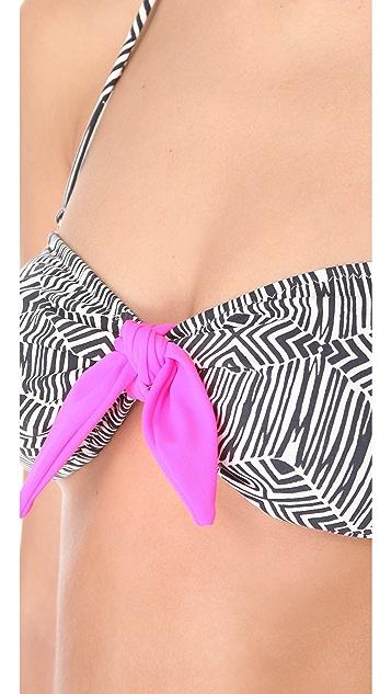 Eberjey Geometric Lola Bikini Top