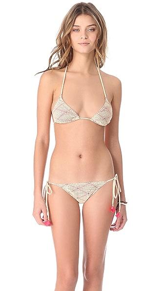 Eberjey Desert Flower Gisele Bikini Top
