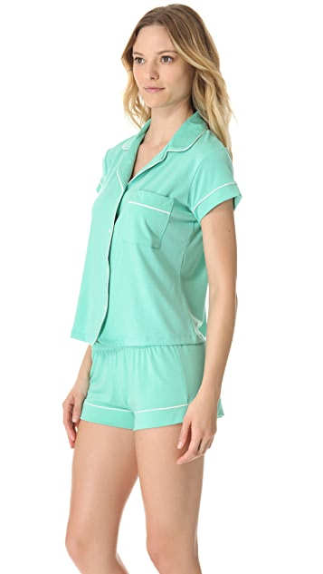 Eberjey Gisele Short PJ Top