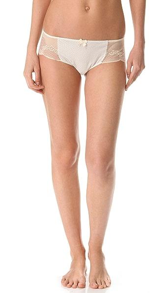 Eberjey Scattered Dots Lace Bikini Briefs