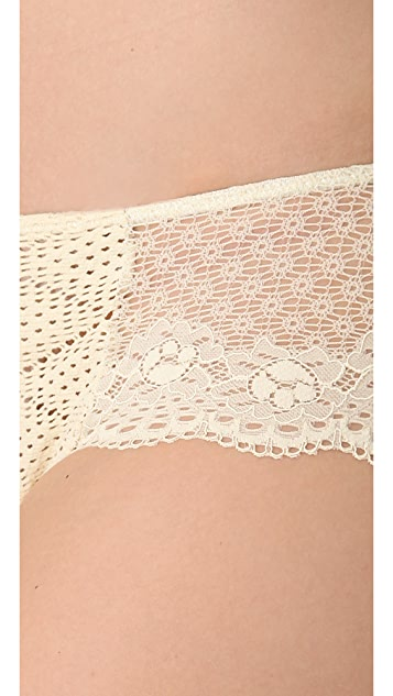 Eberjey Crochet Dreams Lace Briefs
