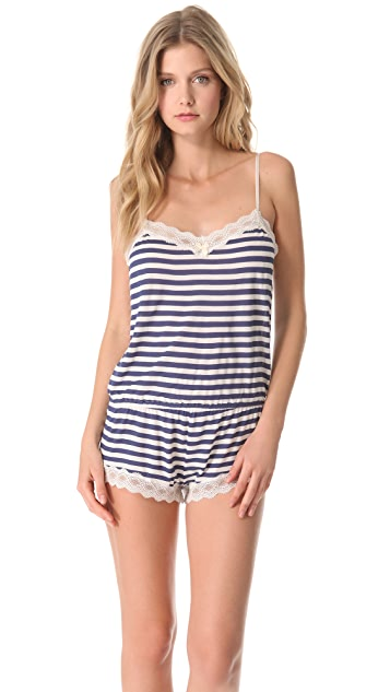 Eberjey Maritime Stripes Teddy