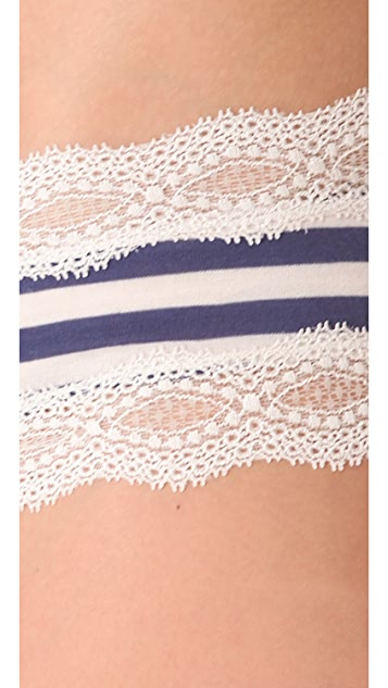 Eberjey Maritime Stripes Hipster Briefs