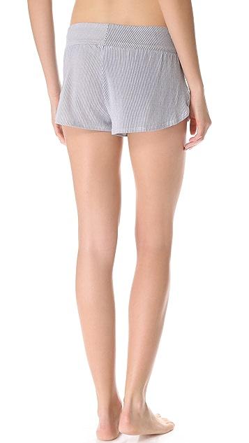 Eberjey Cottage Stripes Shorts
