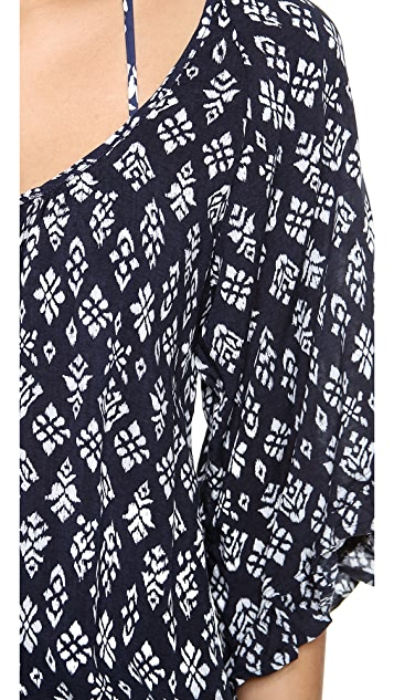 Eberjey Tribal Block Soleil Cover Up Dress