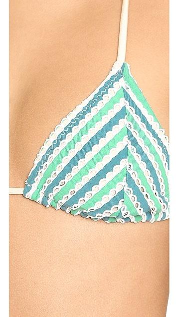 Eberjey Sandy Sea Talitha Bikini Top