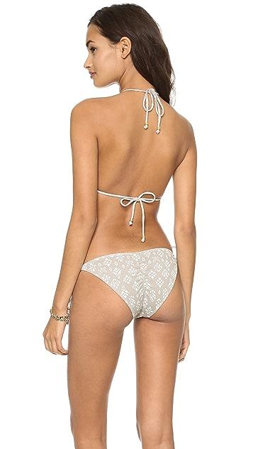 Eberjey Tribal Block Gisele Bikini Top