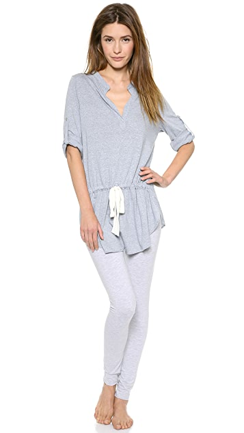 Eberjey Heather Tunic