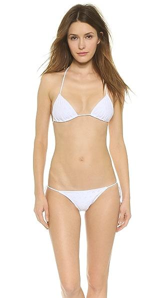 Eberjey Salty Kisses Gisele Bikini Top