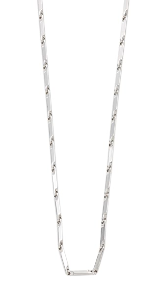Eddie Borgo Peaked Link Necklace