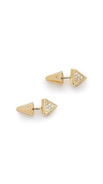 Eddie Borgo Pave Stud Earrings
