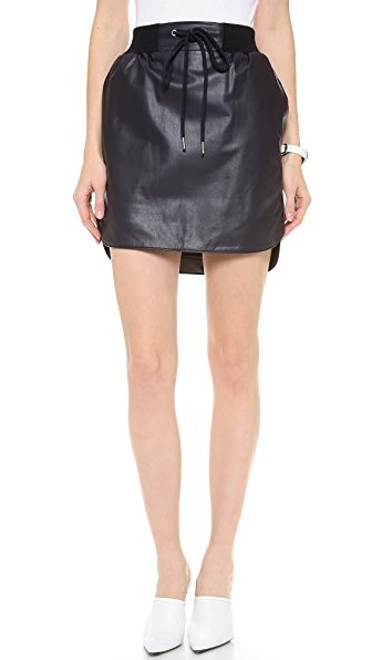 Emma Cook Leatherette Skirt