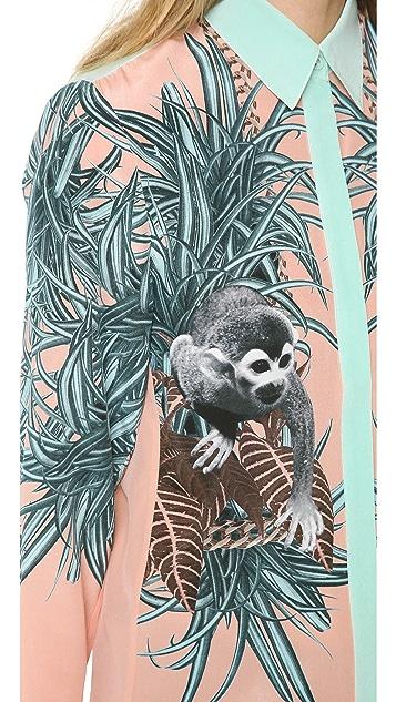 Emma Cook Silk Monkey Blouse