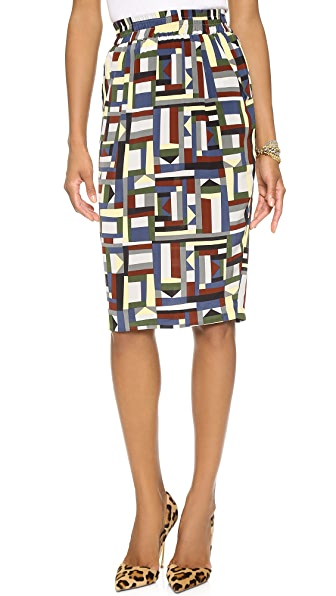 Emma Cook Silk CDC Skirt