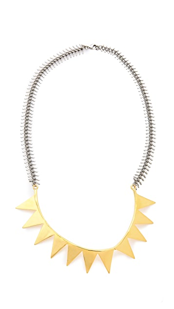 Eddie Borgo Smile Necklace