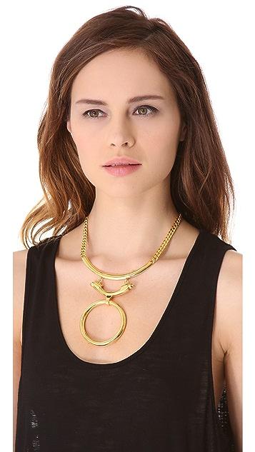 Eddie Borgo O Ring Necklace