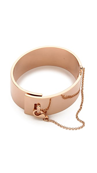 Eddie Borgo Safety Chain Cuff