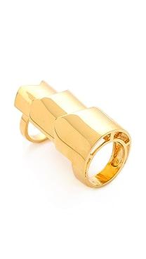 Eddie Borgo Hinged Plate Ring