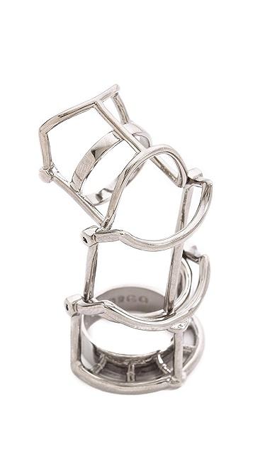Eddie Borgo Hinged Ratchet Ring