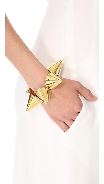 Eddie Borgo Extra Large Cone Bracelet