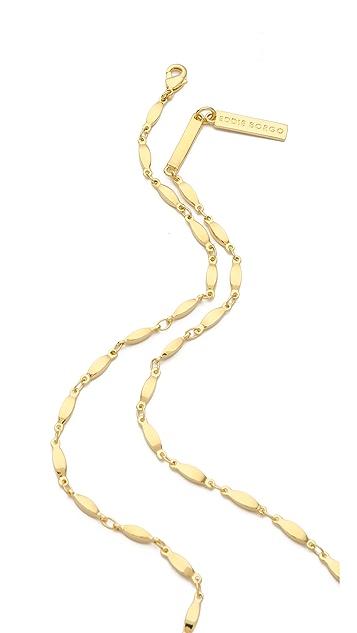Eddie Borgo Padlock Pendant Necklace