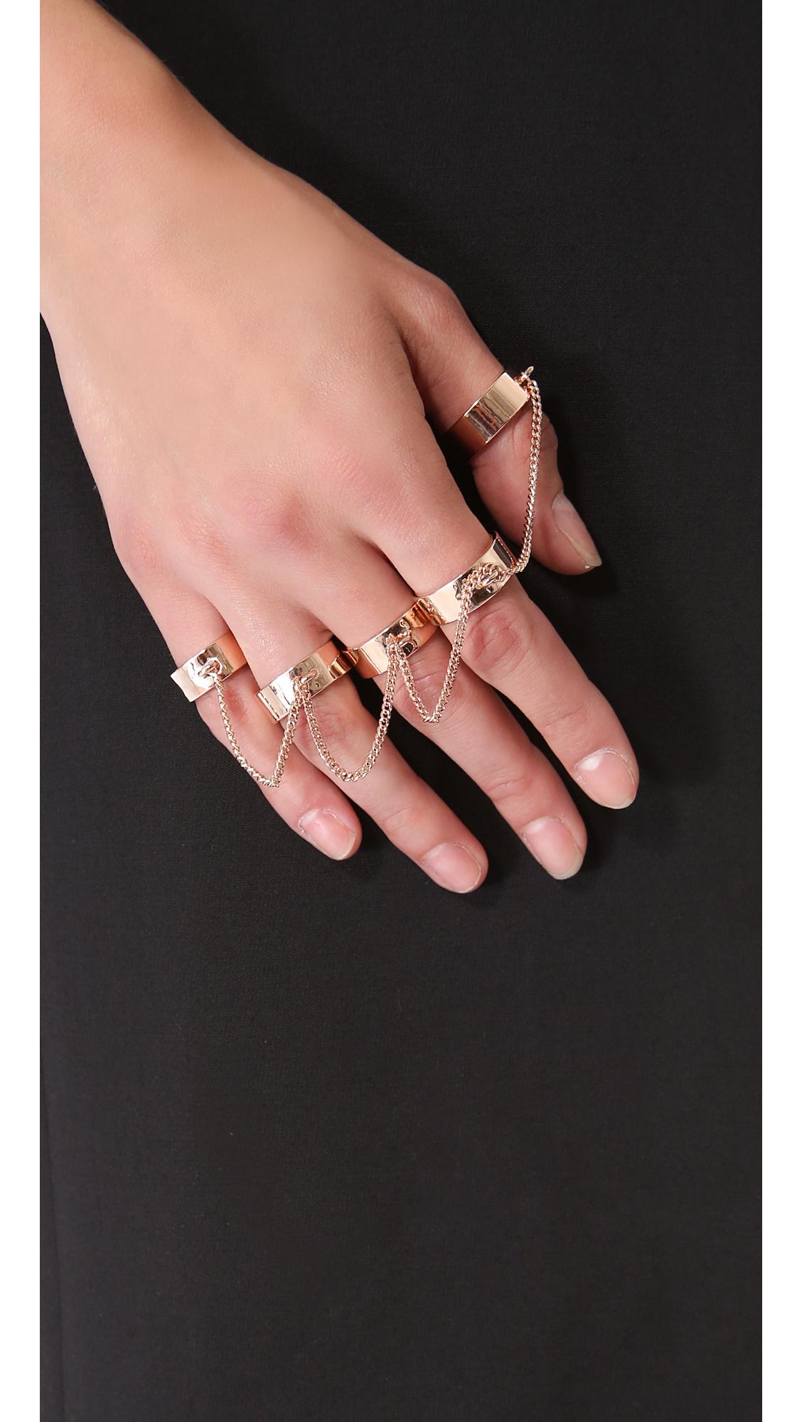 d6204de679f1 Eddie Borgo Five Finger Ring