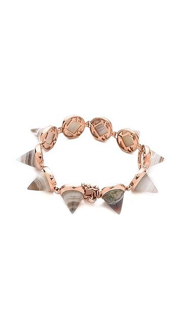 Eddie Borgo Gemstone Cone Bracelet