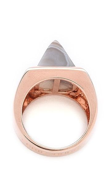Eddie Borgo Gemstone Pyramid Ring