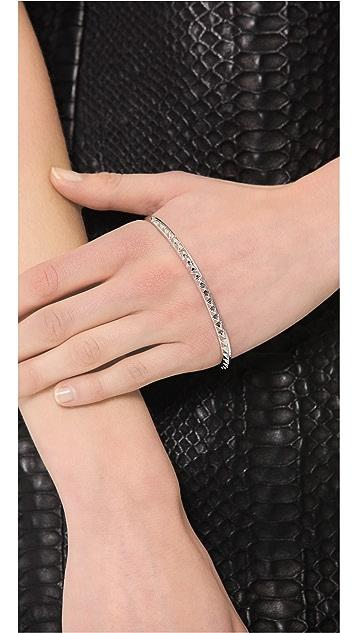 Eddie Borgo Studded Hand Ring