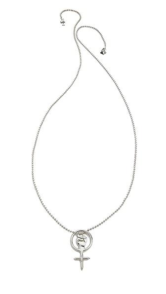 Eddie Borgo Power Pendant Necklace