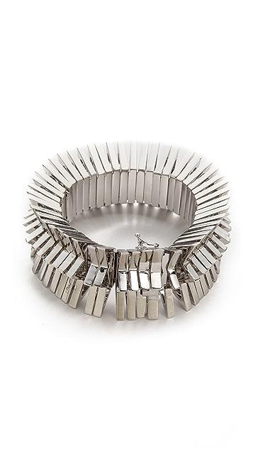 Eddie Borgo Chevron Bracelet