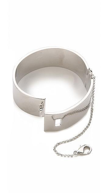 Eddie Borgo Safety Chain Cuff