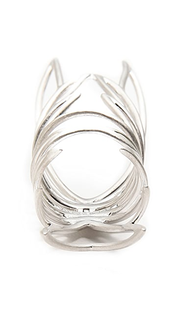 Eddie Borgo Hinged Wing Ring