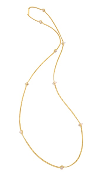 Eddie Borgo 9 Station Cone Necklace