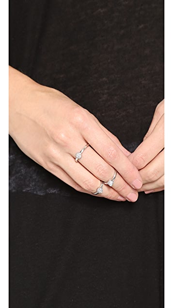 Eddie Borgo Pave Single Cone Rings