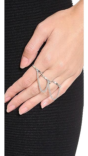 Eddie Borgo Three Finger Ring