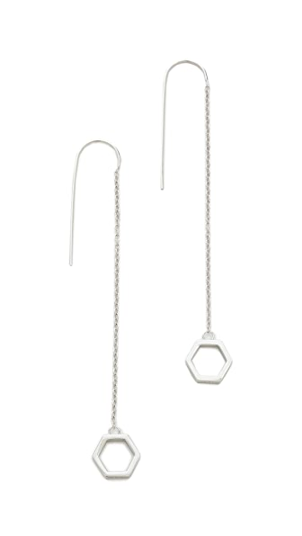 Eddie Borgo Halo Drop Earrings