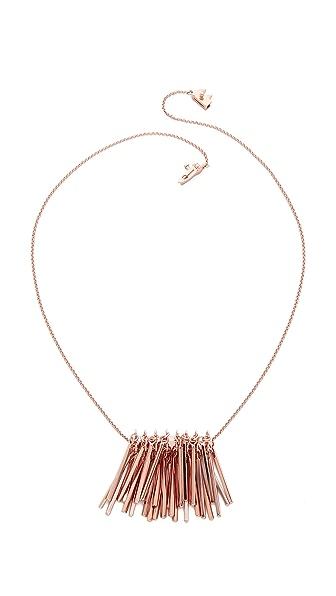 Eddie Borgo Fringe Pendant Necklace