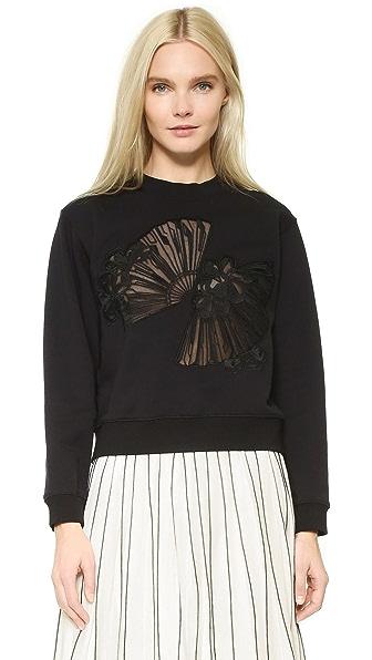 Edition10 Fan Cutout Sweatshirt