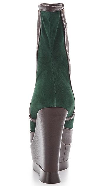 Edmundo Castillo Carla Wedge Boots