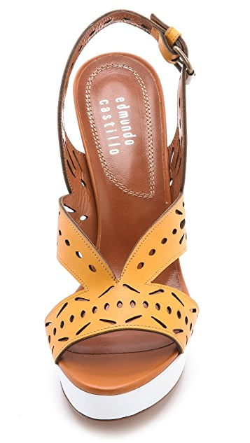 Edmundo Castillo Gainell Slingback Sandals