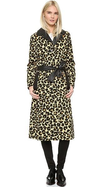 Edun Leopard Coat - Leopard