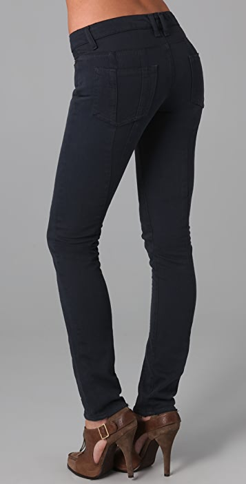 EDUN Reverse Inset Skinny Jeans