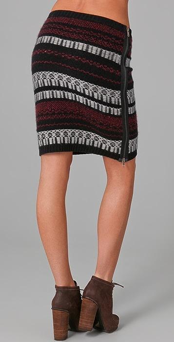 EDUN Zipped Sweater Skirt