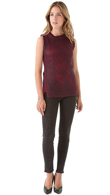 EDUN Hand Knit Tank Sweater